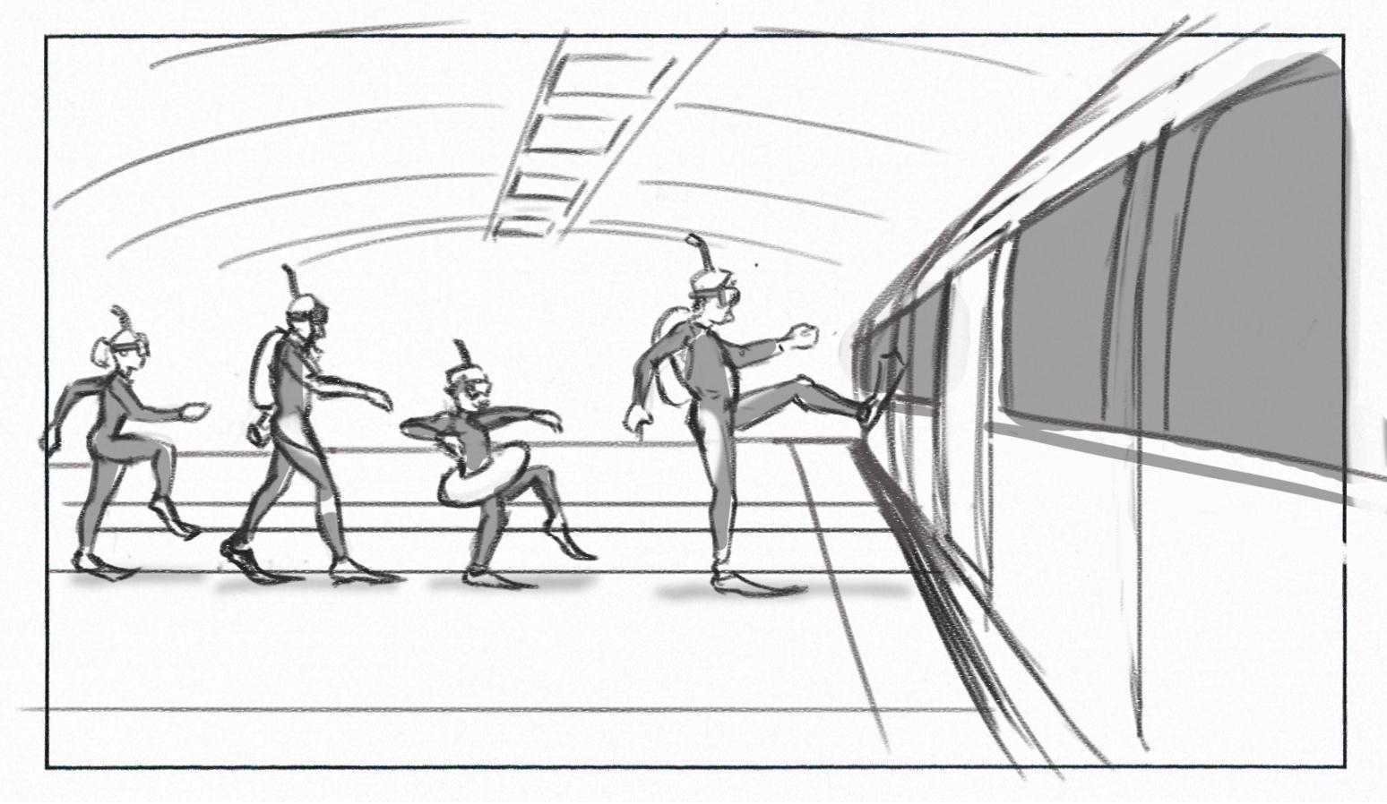 Freelance storyboard Artist