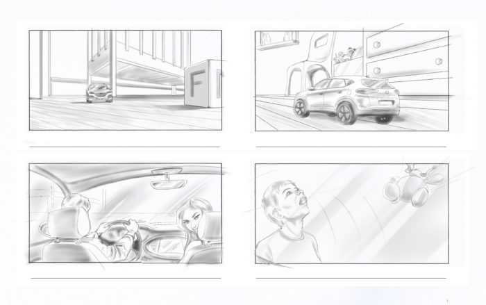 London Based Storyboard Artist