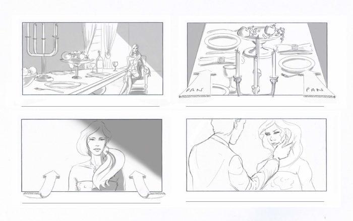 Professional Storyboard Artist